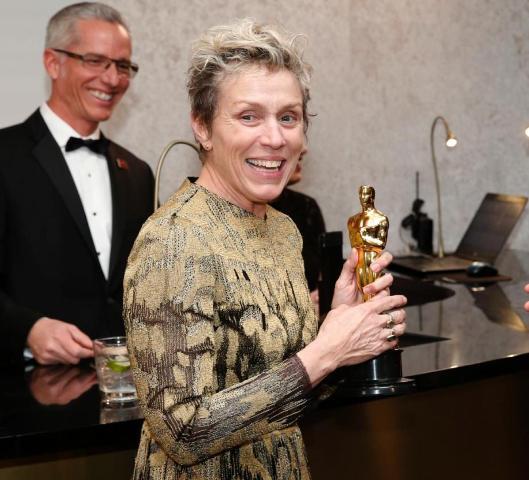 Ellopták Frances McDormand Oscar-szobrát