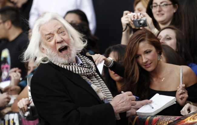 Oscar-díj - Donald Sutherland  Oscar-életműdíjat kap