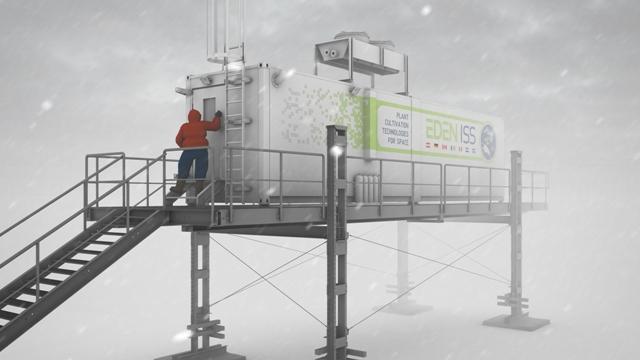 Különleges üvegház épül az Antarktiszon