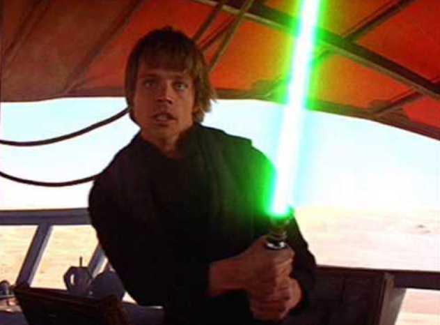 Luke Skywalker kardjára lehet licitálni egy Los Angeles-i árverésen (FOTÓ)