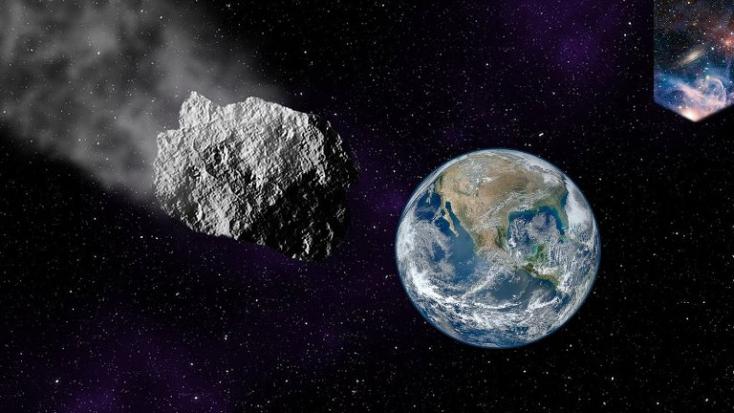 Háznagyságú aszteroida halad el a Föld mellett csütörtökön