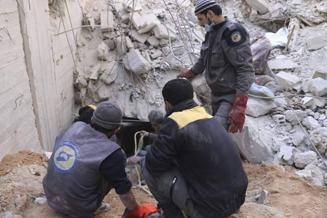 Szíria - Nem hagyja el a kormányerők által ostromolt Kelet-Gútát a legnagyobb ellenzéki fegyveres csoport
