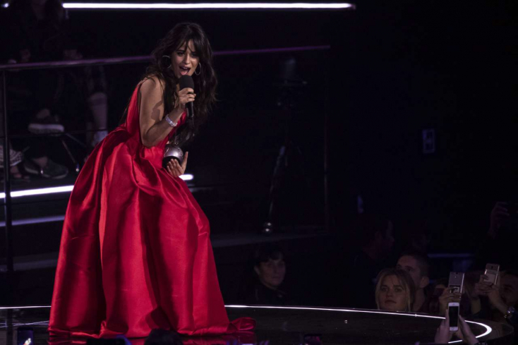 Camila Cabello tarolt az MTV Europe Music Awardson