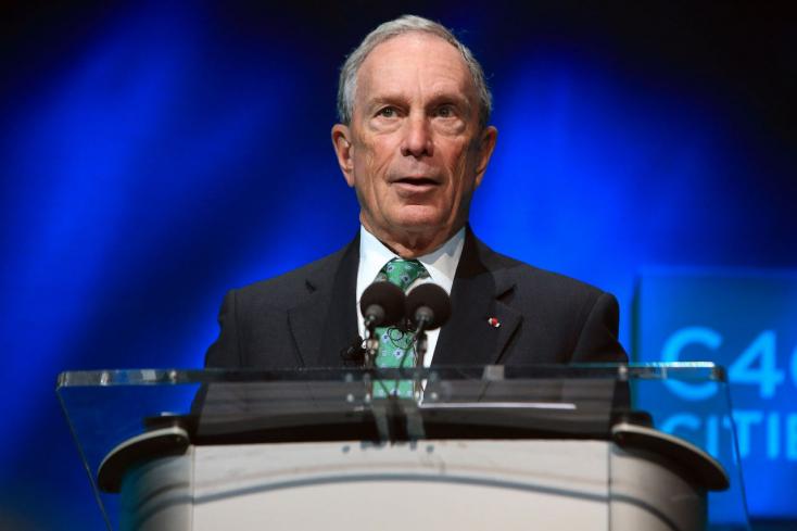 A milliárdos Bloomberg állítja ki az amerikai csekket a klímavédelemért Trump helyett