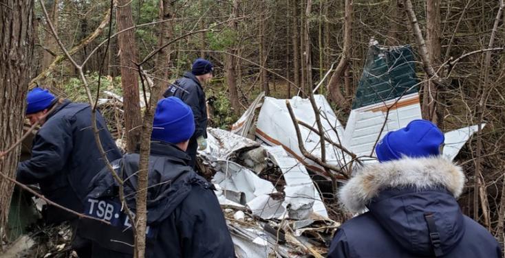Lezuhant egy kisrepülőgép Kanadában, öttagú család vesztette életét