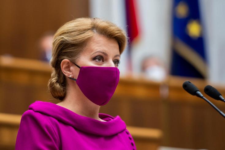 Čaputová szerint az nem lehet önkéntes tesztelés, ha büntetéssel fenyegetik az embereket