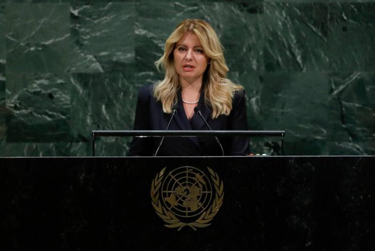 Erős beszédet mondott Čaputová az ENSZ-ben