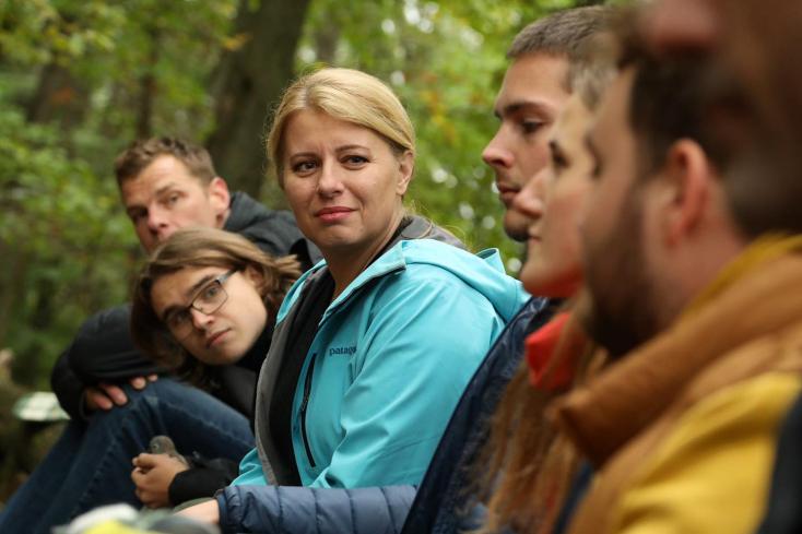 A fiatalok fizethetik meg az árát a klímaválságnak,ha nem teszünk semmit - üzente Čaputová
