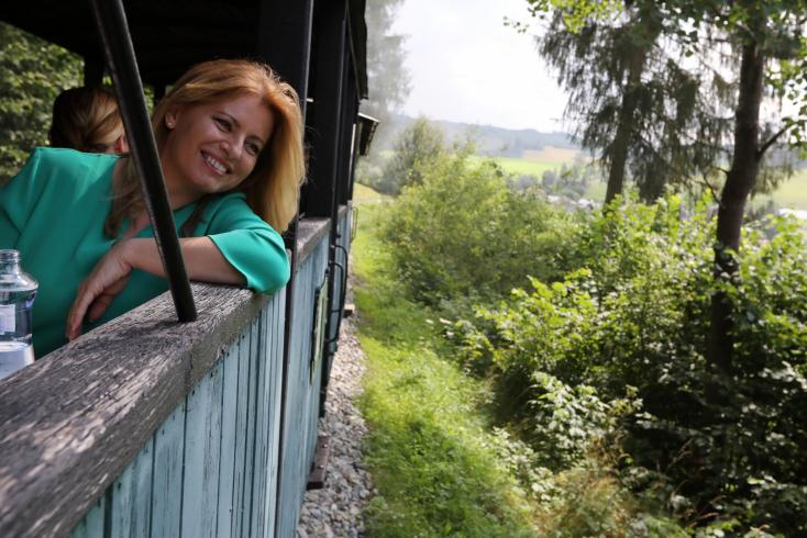 Bár Čaputová nagy rajongója atengernek, idén inkább Szlovákia szépségeit fedezi fel