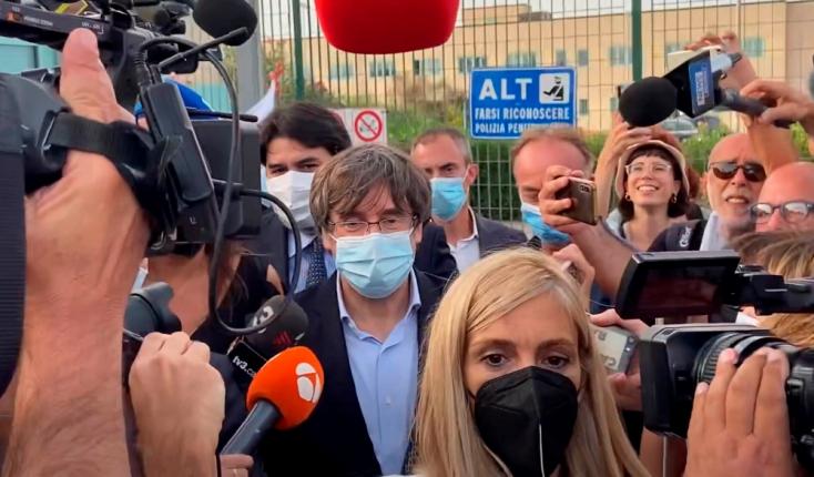 Letartóztatták, aztán el is engedték a katalán függetlenség élharcosát