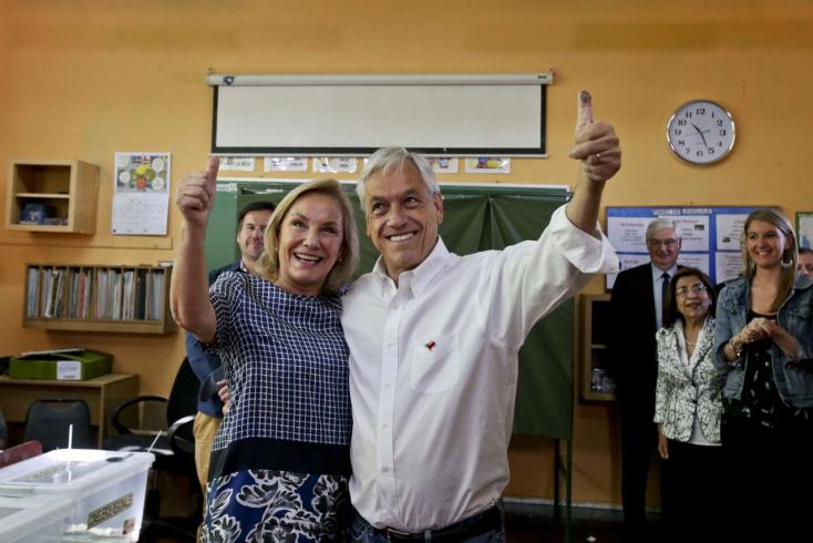 Egy milliárdos exelnök kapta a legtöbb szavazatot a chilei államfőválsztáson