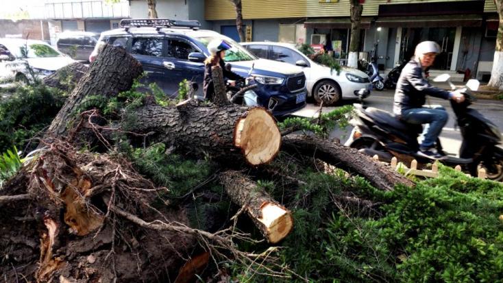11 halott és több száz sérült egy Sanghaj melletti viharban