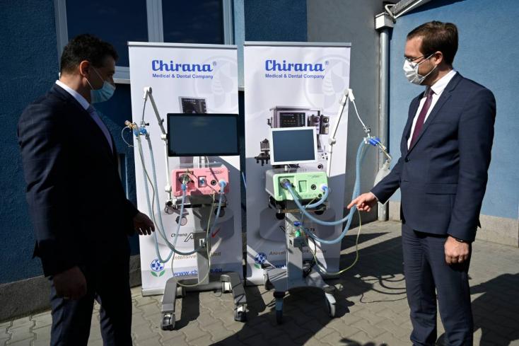 Megnégyszerezte termelését, csak Szlovákiának gyárt a Chirana Medical