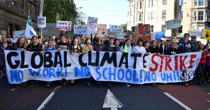 A klímasztrájk lett az év szava a Collins szótár szerint