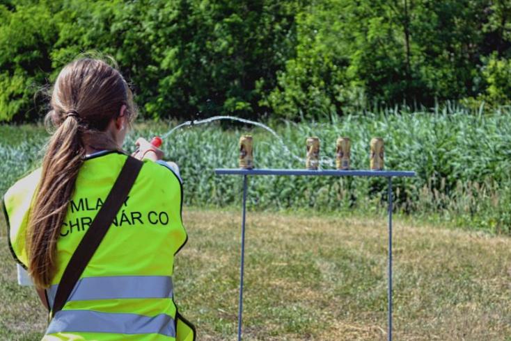 Szoros mezőnyben győztek Bősön a dubnicai gyerekek