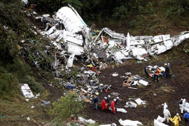 Kiderült, miért zuhant le a Chapecoense futballcsapat repülője 2016-ban