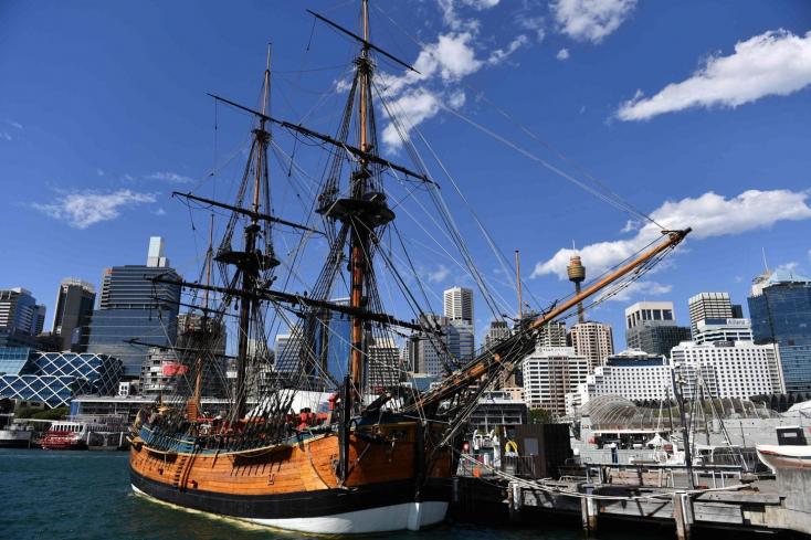 Történelmi pillanat: Megtalálhatták Cook kapitány hajóját!