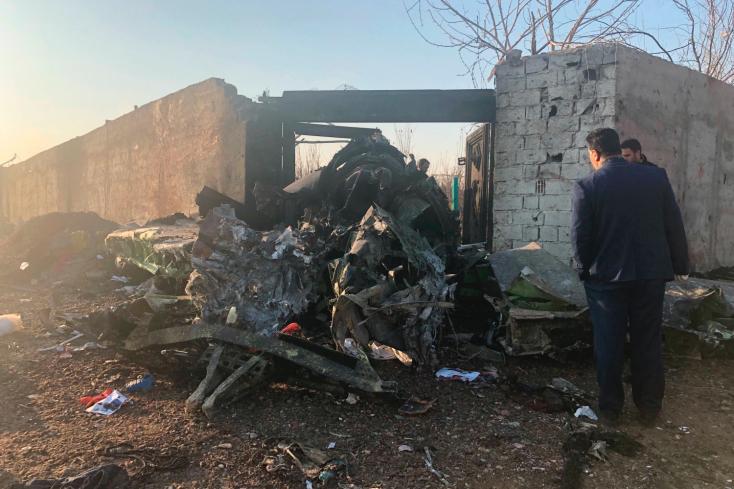 Jordániai sajtóértesülés szerint az iráni légvédelem lőtte le az ukrán gépet