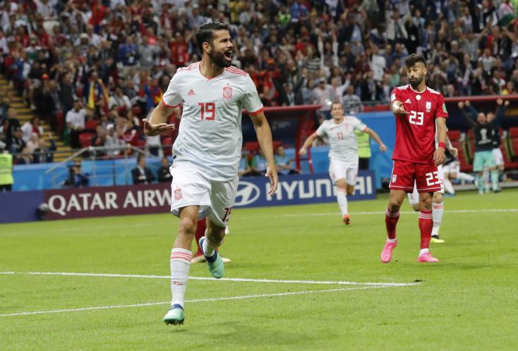 Szerencsés góllal, küszködve győzték le a spanyolok Iránt