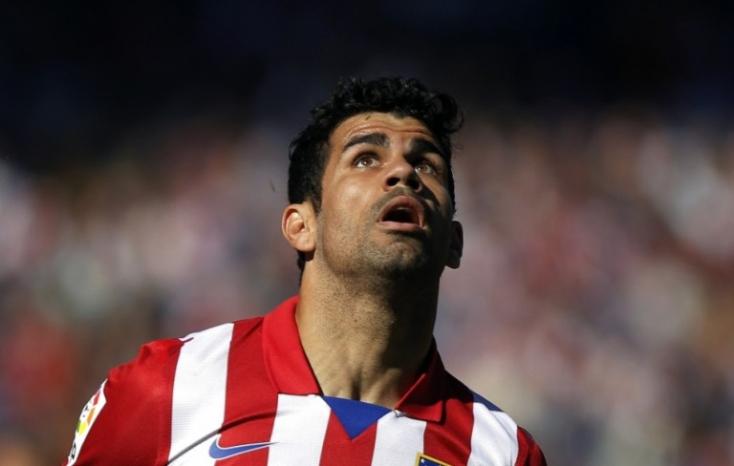Diego Costa combsérüléssel küzd, csatárt igazolna az Atlético