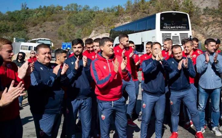 Nem engedték be Koszovóba a Crvena Zvezdát