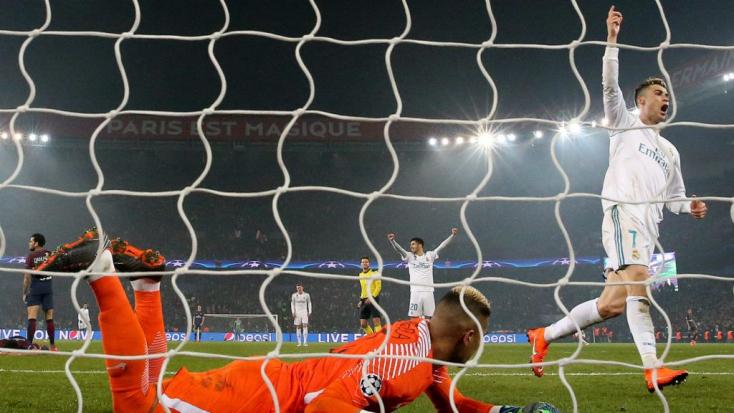 Bajnokok Ligája: Nyolc között a Real Madrid és a Liverpool