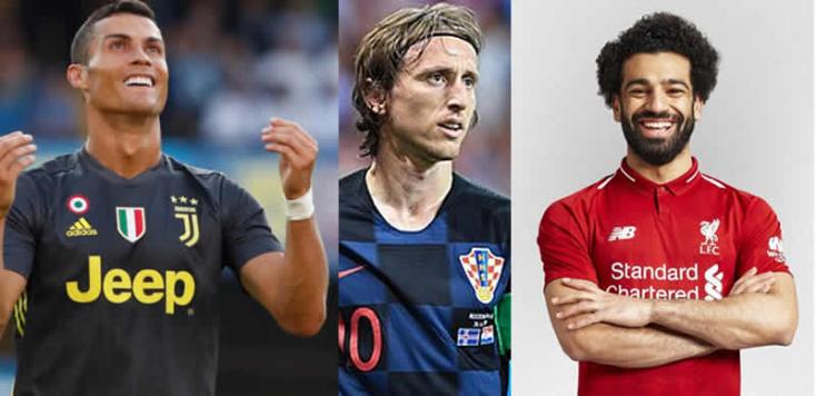 Ki lesz a legeslegjobb? Ronaldo, Modric vagy Szalah?