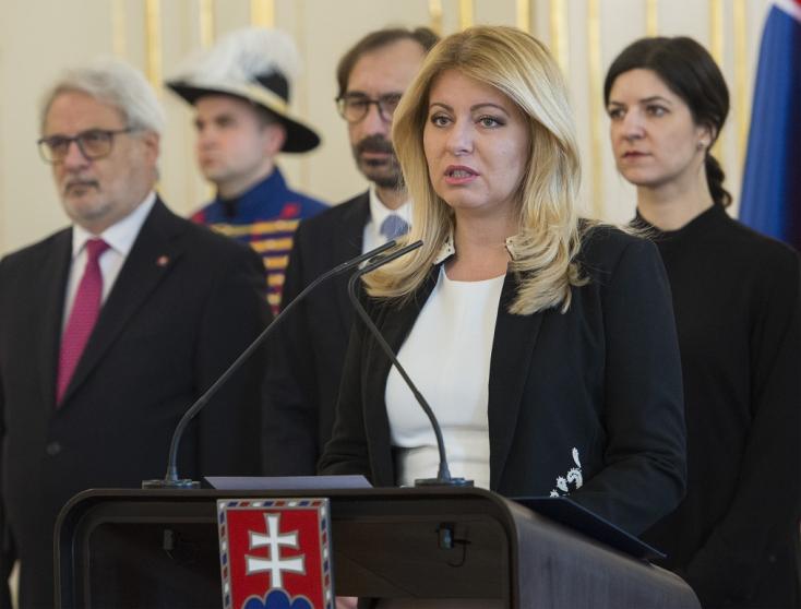 Čaputová Nagymácsédon emlékezett meg Kuciakékról