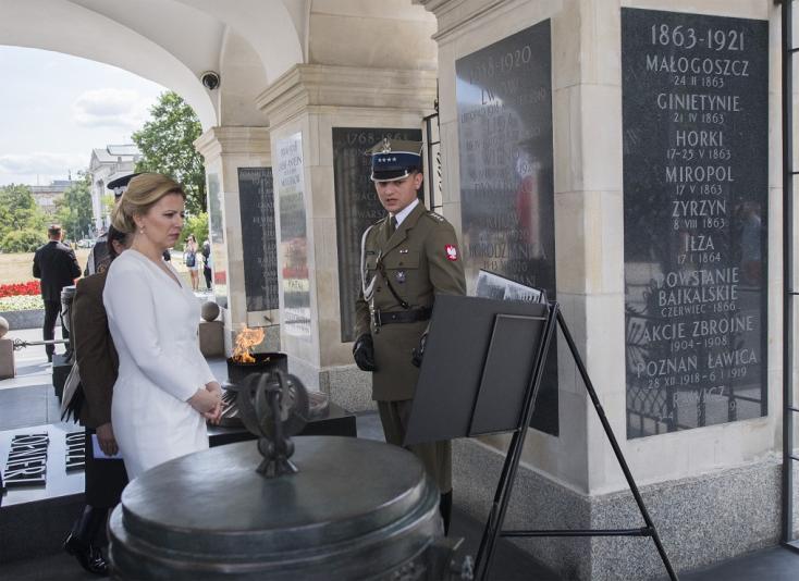 """Nem kisebb kérdést piszkálnaČaputová, mint a """"keleti front"""" helyzete"""