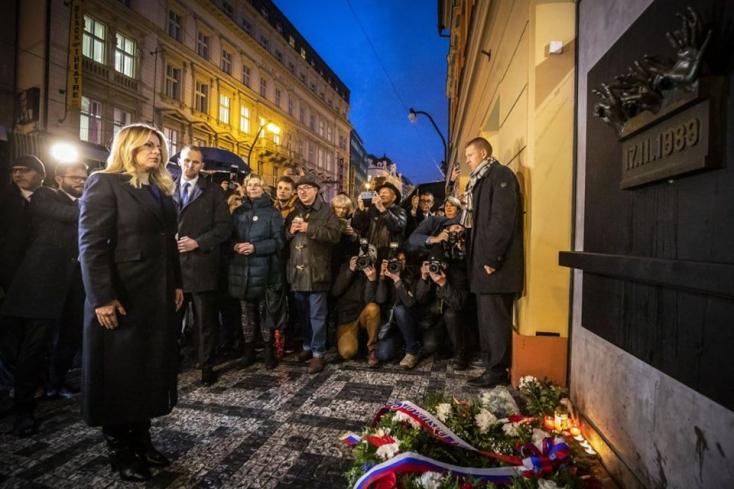 Čaputová: az emberek megfeledkeztek arról, mit értek el 1989 novemberében