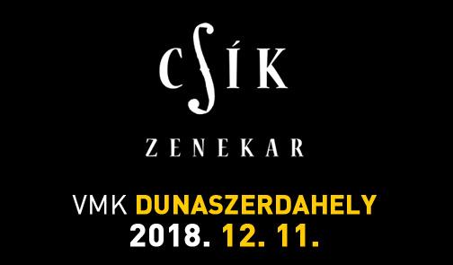 Komáromban és Dunaszerdahelyen koncertezik az idén 30 éves Csík zenekar