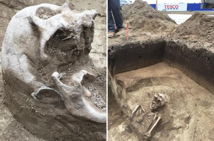 Honfoglalás korabeli temetkezési helyre bukkantak Dunaszerdahelyen