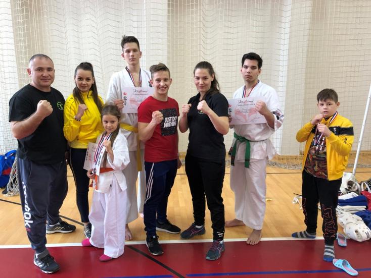 Horvátországban jártak a csallóközi Seishin Karate Klub növendékei