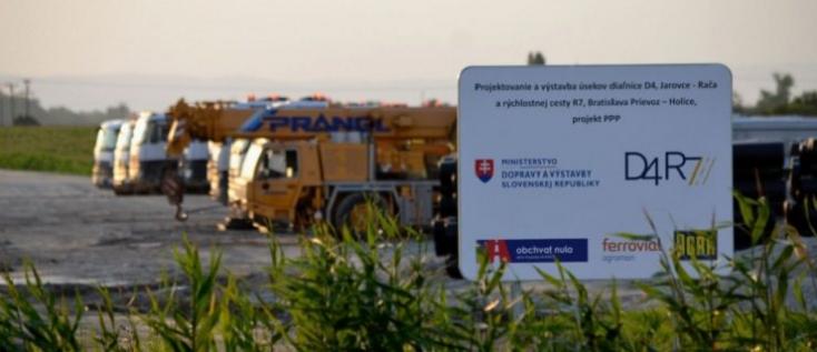 D4/R7: Egy személyt és egy céget bűnténnyel gyanúsít a rendőrség az építkezés kapcsán!