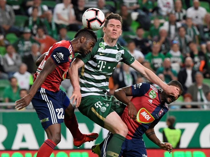 A Ferencváros nyerte a rangadót, egy lépésre a bajnoki címtől