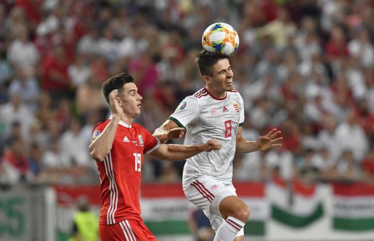Eb-selejtező: Wales elleni győzelmével csoportelső maradt a magyar válogatott
