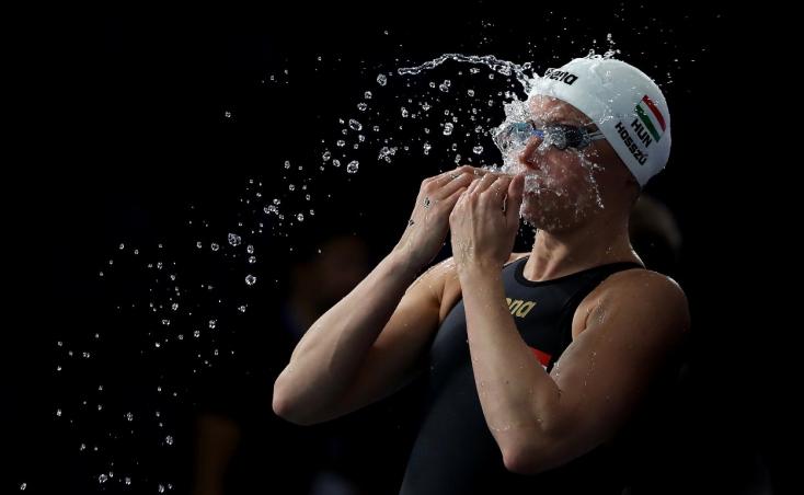 Rövidpályás úszó-Eb: Hosszú aranyérmes 100 méter vegyesen