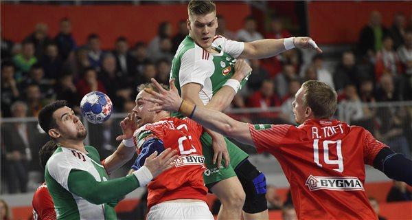 Férfi kézilabda Eb: Hétgólos magyar vereség az olimpiai bajnok dánoktól