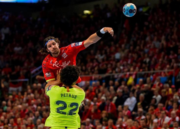 Férfi kézilabda BL: A Veszprém nyerte a Barcelona elleni rangadót