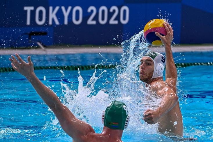 Tokió 2020: Huszonkét góllal győzte le a dél-afrikai csapatot a magyar férfi vízilabda-válogatott