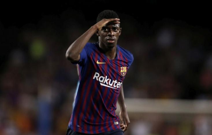 Ousmane Dembélé öt hétig nem futballozhat sérülés miatt