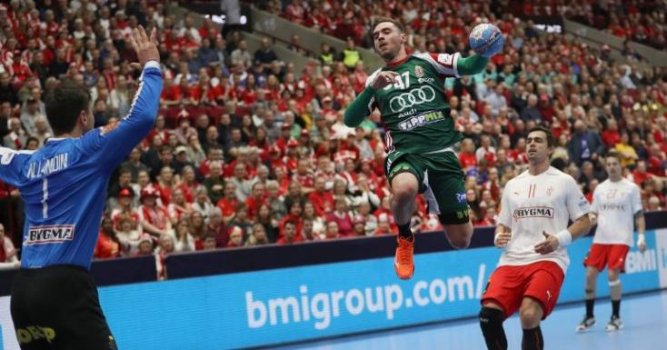 Férfi kézilabda Eb - Magyar döntetlen az olimpiai bajnok dánokkal