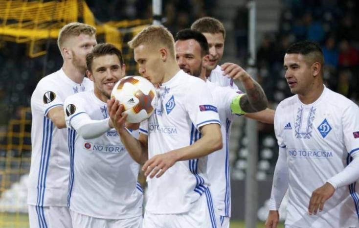 A Dinamo Kijev menesztette a teljes szakmai stábot