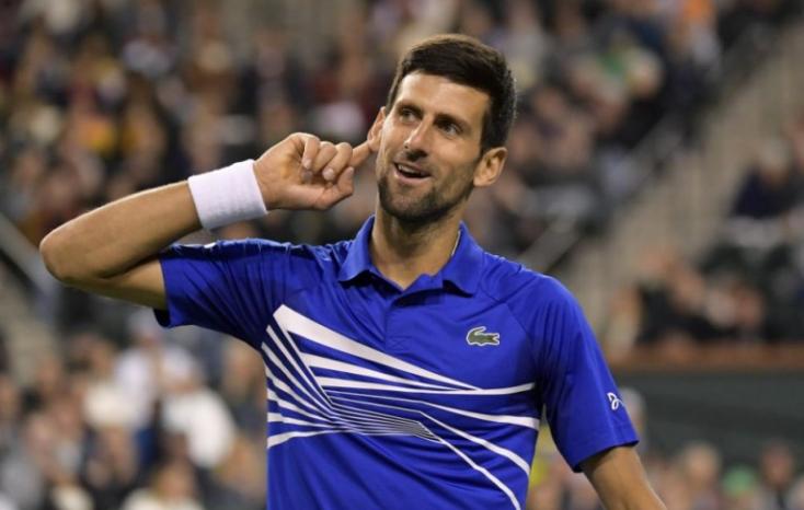 Párizsi tenisztorna - Djokovic a nyolcaddöntőben