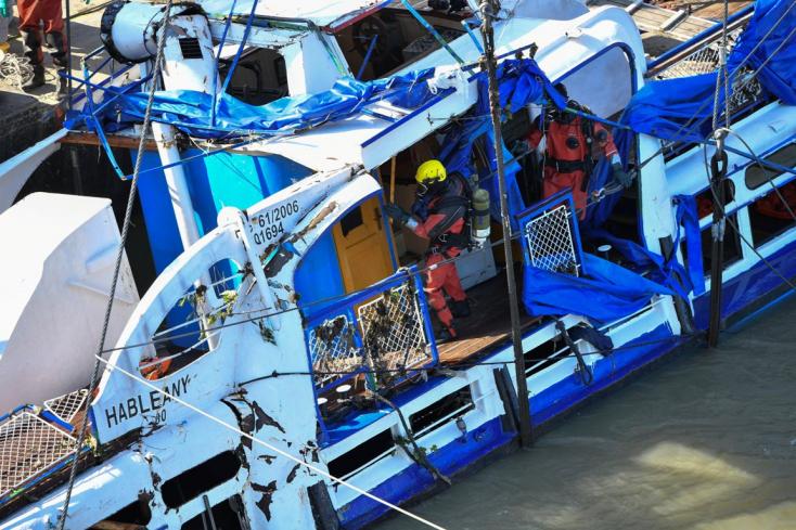 Megtalálták a dunai hajóbaleset hatéves áldozatát