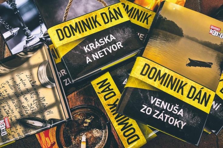 Kirúgták a belügyminisztériumtól az ismert szlovák krimiszerzőt, Dominik Dánt