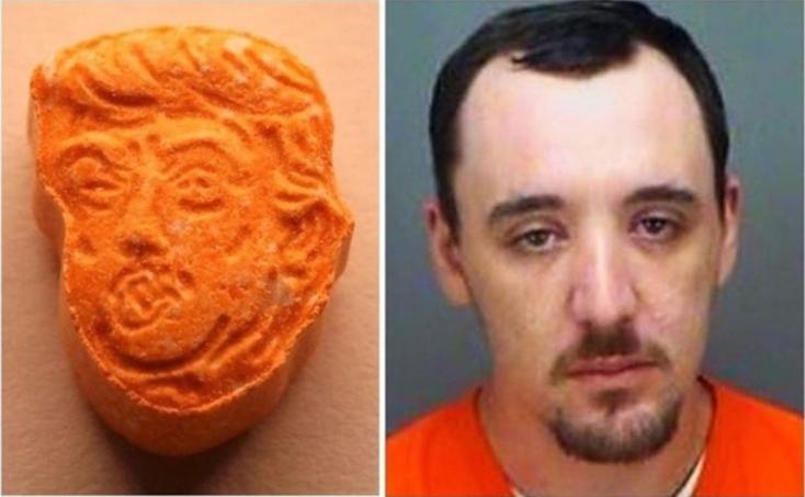 Kábító Trump-pirulákat találtak egy férfinál Floridában