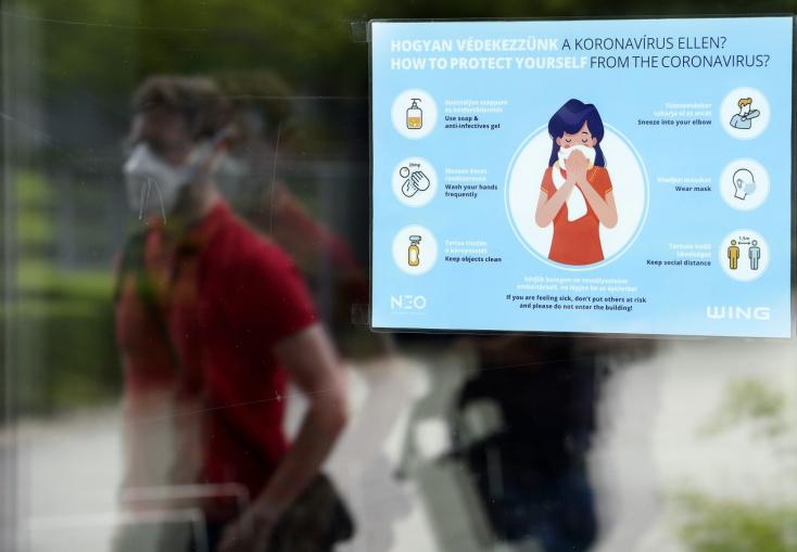 Tíz új koronavírus-fertőzöttet regisztráltak Magyarországon, két ember meghalt