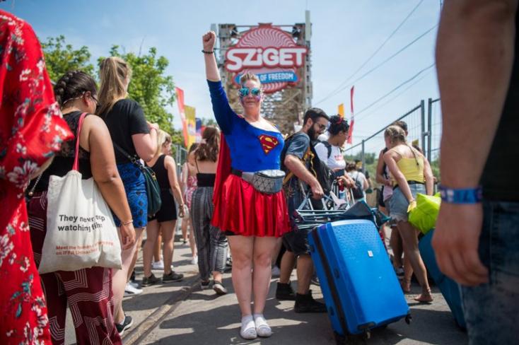 Sziget - A szervezők felkészültek a következő napok hőségére