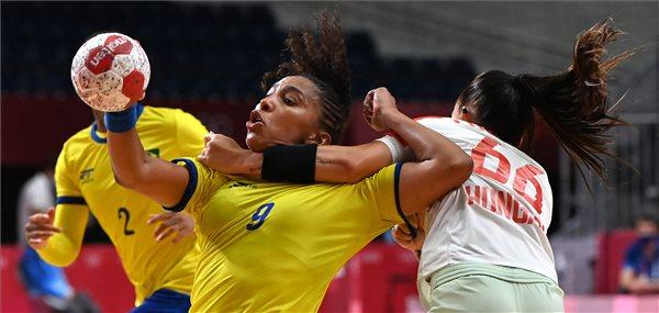 Tokió 2020 - A braziloktól is kikapott a magyar női kézilabda-válogatott